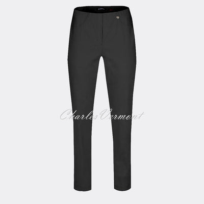 Robell Bella Trouser 51559-5499-90 (Black) – SHORTER LENGTH 29""