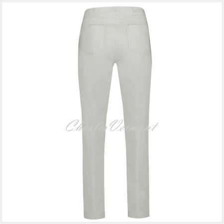 Robell Bella Full Length Trouser 51559-5499-92 (Light Grey)