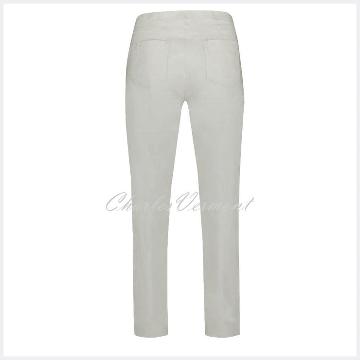 Robell Bella Trouser 51559-5499-92 (Light Grey) – SHORTER LENGTH 29""