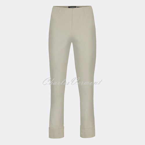 Robell Bella 09 - 7/8 Cropped Trouser 51568-5499-13 (Light Taupe)