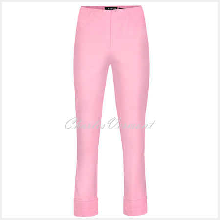 Robell Bella 09 - 7/8 Cropped Trouser 51568-5499-133 (Orchid Pink)