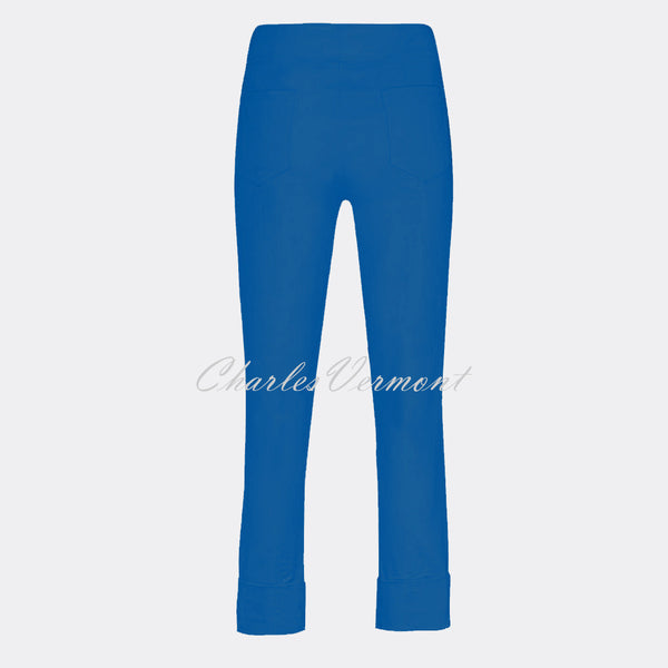 Robell Bella 09 - 7/8 Cropped Trouser 51568-5499-67 (Royal Blue)