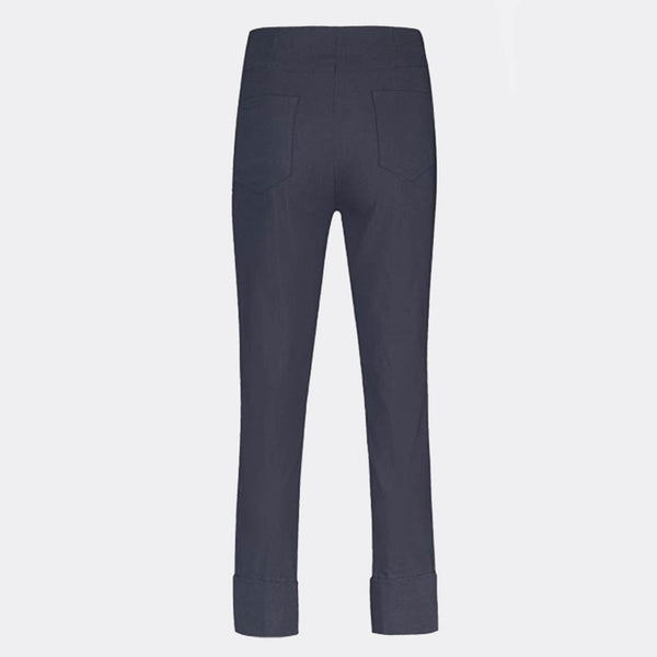 Robell Bella 09 - 7/8 Cropped Trouser 51568-5499-69 (Navy)