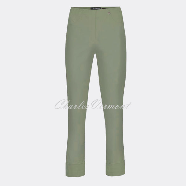 Robell Bella 09 - 7/8 Cropped Trouser 51568-5499-881 (Ivy Green)