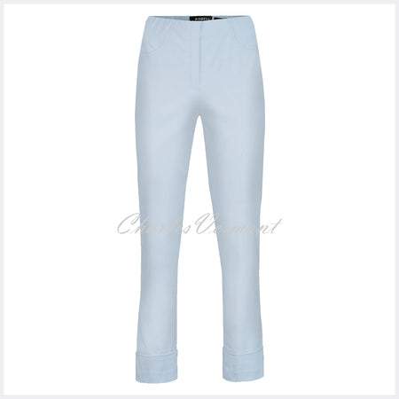 Robell Bella 09 - 7/8 Cropped Trouser 51568-5499-91 (Silver)