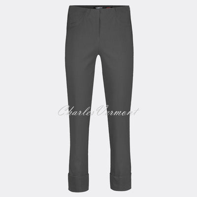Robell Bella 09 – 7/8 Cropped Trouser 51568-5499-97 (Anthracite)