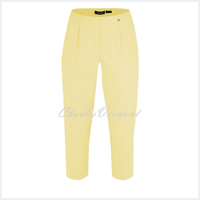 Robell Marie 07 Capri Trouser 51576-5499-210 (Soft Lemon)