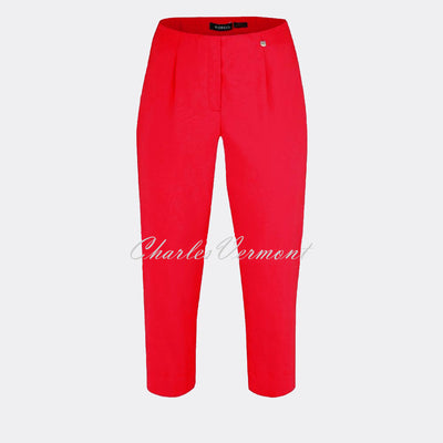 Robell Marie 07 Capri Trouser 51576-5499-40 (Red)