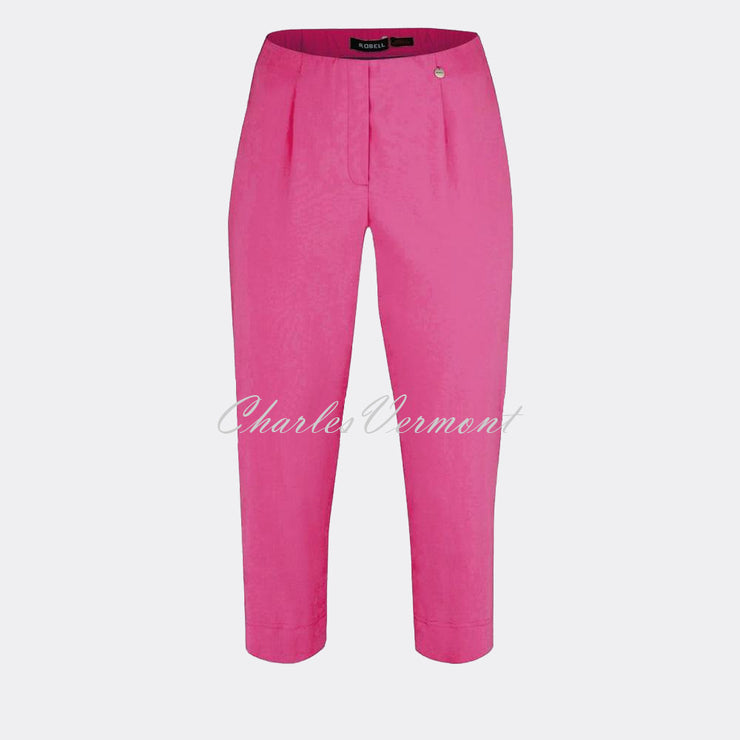 Robell Marie 07 Capri Trouser 51576-5499-550 (Orchid Pink)