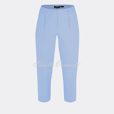 Robell Marie 07 Capri Trouser 51576-5499-610 (Powder Blue)