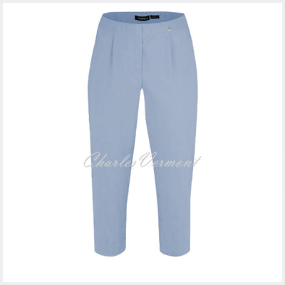 Robell Marie 07 Capri Trouser 51576-5499-611 (Light Blue)