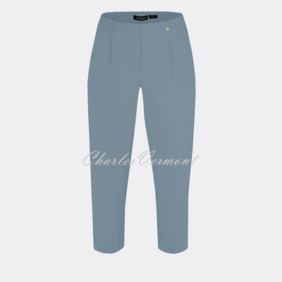 Robell Marie 07 Capri Trouser 51576-5499-62 (Light Denim Blue)