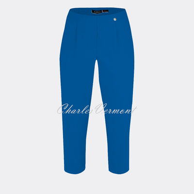 Robell Marie 07 Capri Trouser 51576-5499-67 (Royal Blue)
