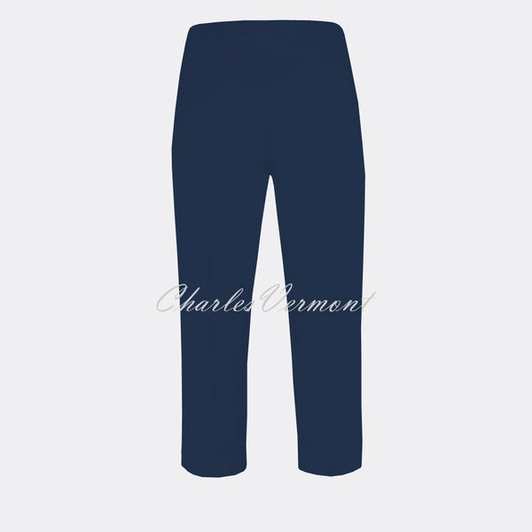 Robell Marie 07 Capri Trouser 51576-5499-68 (Denim Blue)