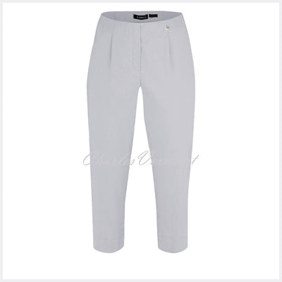 Robell Marie 07 Capri Trouser 51576-5499-920 (Light Grey)