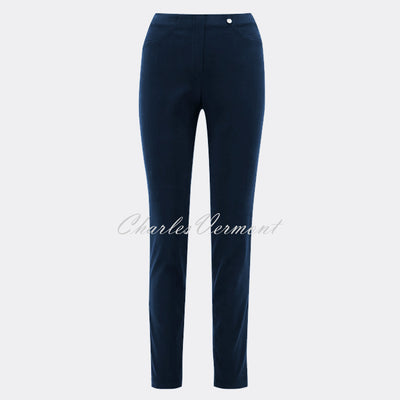 Robell Bella Full Length Trouser 51580-54434-69 (Navy)