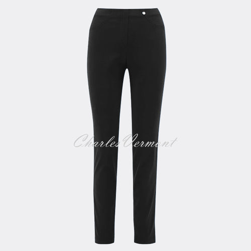 Robell Bella Full Length Trouser 51580-54434-90 (Black)