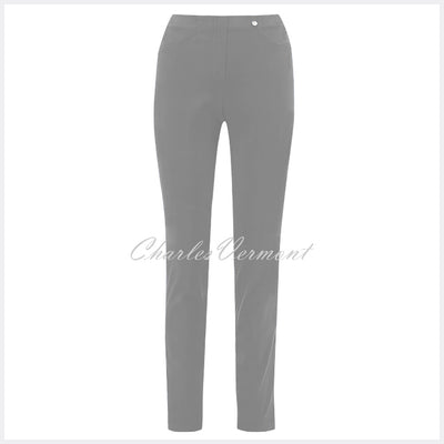 Robell Bella Full Length Trouser 51580-54434-99 (Mid Grey)