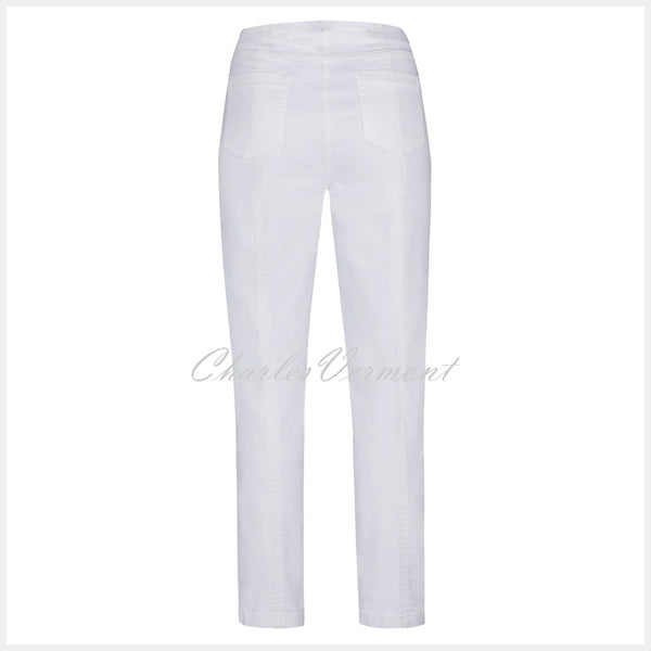Robell Bella Full Length Jean 51580-5448-10 (White Denim)