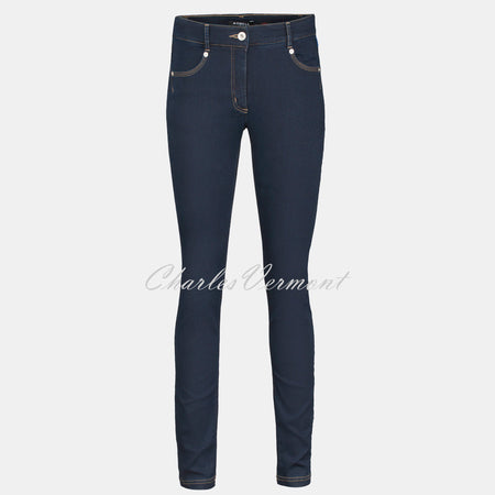 Robell Star Full Length Jean 51601-5448-69 (Navy Denim)