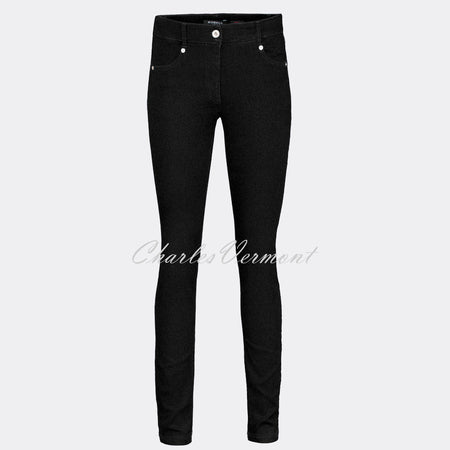 Robell Star Full Length Jean 51601-5448-90 (Black)