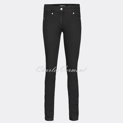 Robell Star Full Length Jean 51601-54808-90 (Black)