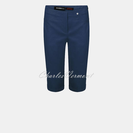 Robell Bella 05 - Bermuda Short 51625-5499-68 (Denim Blue)
