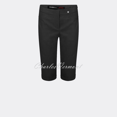 Robell Bella 05 - Bermuda Short 51625-5499-90 (Black)