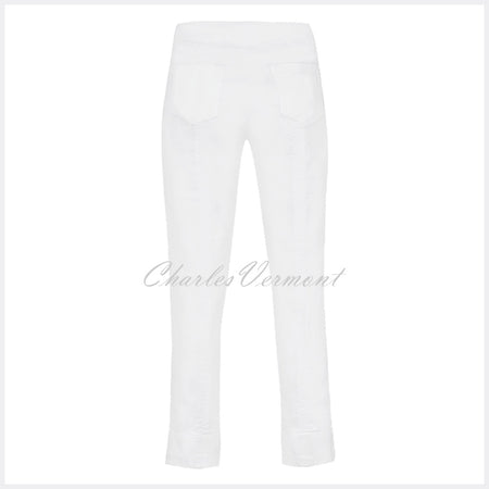 Robell Bella 09 - 7/8 Cropped Jean 51628-5448-10 (White)