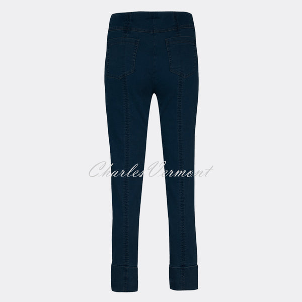 Robell Bella 09 – 7/8 Cropped Trouser 51628-5448-69 (Navy Denim)