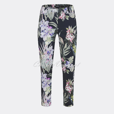 Robell Rose 09 – 7/8 Cropped Trouser 51630-54842-69