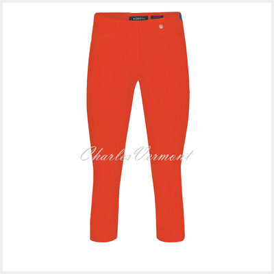 Robell Rose 07 Super Slim Capri Trouser 51636-5499-321 (Orange)