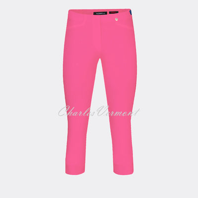 Robell Rose 07 Super Slim Capri Trouser 51636-5499-431 (Pink)