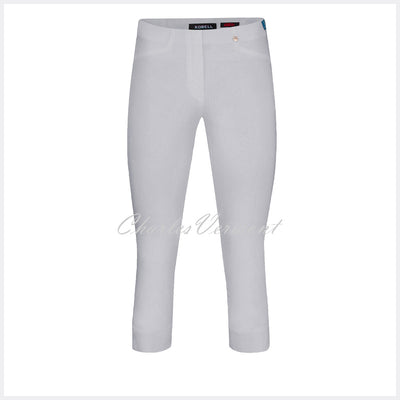 Robell Rose 07 Super Slim Capri Trouser 51636-5499-920 (Light Grey)