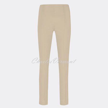 Robell Rose Full Length Super Slim Trouser 51673-5499-14 (Beige)