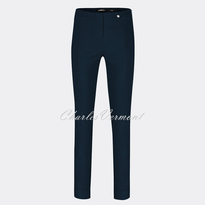 Robell Rose Full Length Super Slim Trouser 51673-5499-69 (Navy)