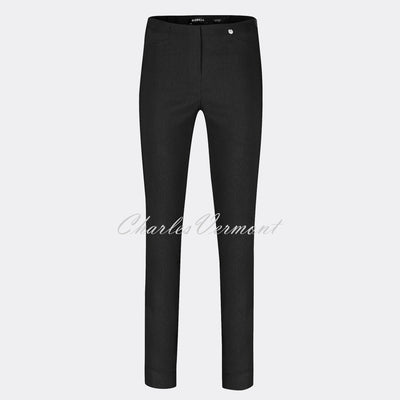 Robell Rose Full Length Super Slim Trouser 51673-5499-90 (Black)