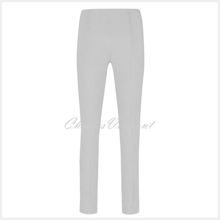 Robell Rose Full Length Super Slim Trouser 51673-5499-92 (Light Grey)