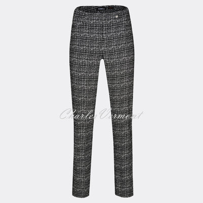 Robell Bella Full Length Trouser 51690-54007-90 (Broken Check)