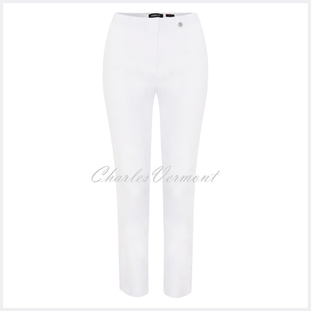 Robell Lena 09 - 7/8 Cropped Trouser 52550-5499-10 (White)