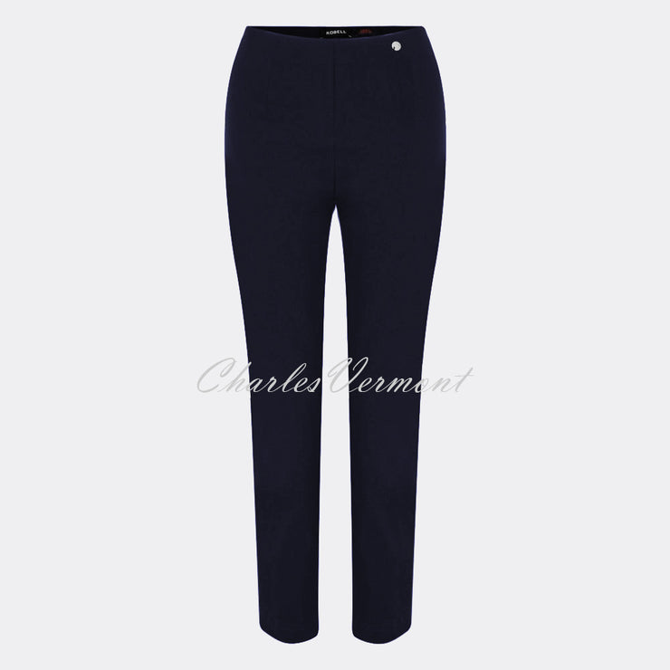 Robell Lena - 7/8 Cropped Trouser 52550-5499-69 (Navy)