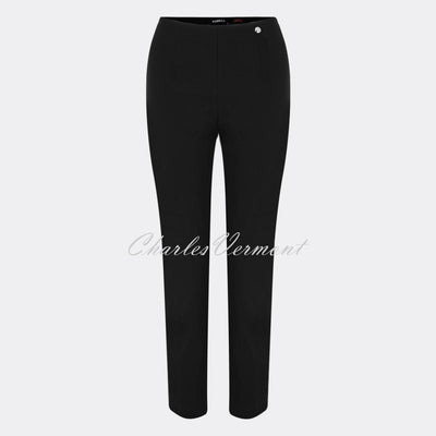 Robell Lena 09 - 7/8 Cropped Trouser 52550-5499-90 (Black)