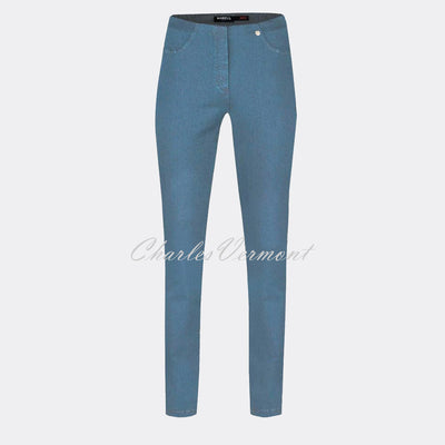 Robell Bella Jean 52560-5448-62 (Light Denim Blue) – SHORTER LENGTH 29""