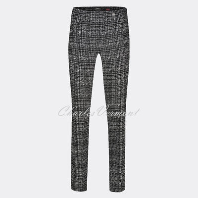 Robell Rose Full Length Trouser 52624-54002-90 (Broken Check)