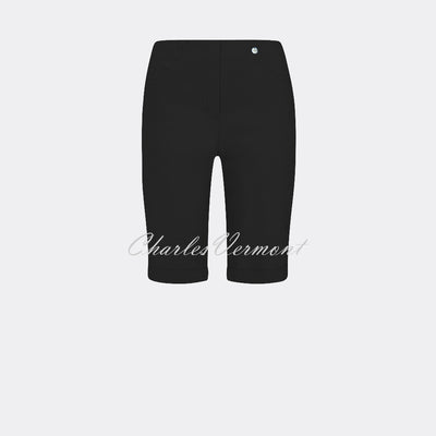 Robell Bella 04 - Short 52665-5499-90 (Black)