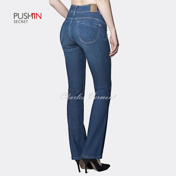 Salsa 100247 Bootcut Jeans - Regular (Medium Blue)