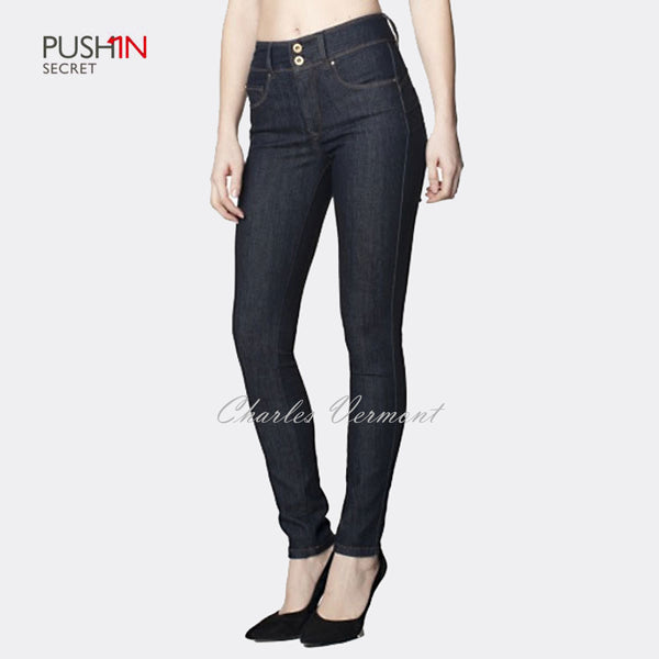 Salsa 100257 Skinny Jeans - Regular (Dark Blue)