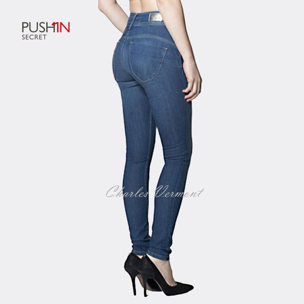Salsa 100257 Skinny Jeans - Regular (Medium Blue)