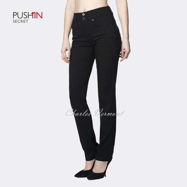 Salsa 100330 Slim Fit Straight Jeans - Regular (Black)