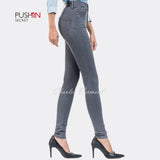 Salsa 111158 Skinny Jeans - Regular (Grey)